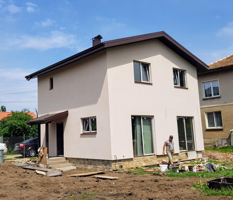 Настоящ обект - къща Петърч 104кв.м.